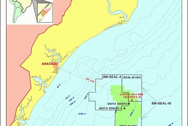 Petrobras proves potential of the Moita Bonita area in the Sergipe-Alagoas Basin