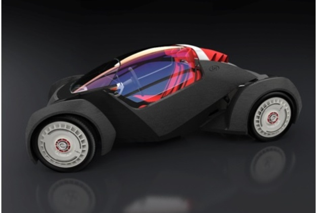 The World's First 3D-Printed Vehicle at IMTS 2014